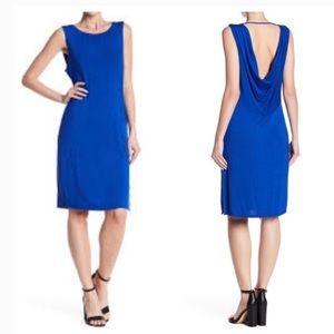 H by Bordeaux Royal Blue Back Detail Dress…